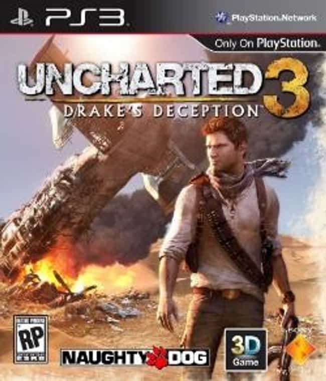 Uncharted 3: Drake's Deception is listed (or ranked) 3 on the list The Best Uncharted Games