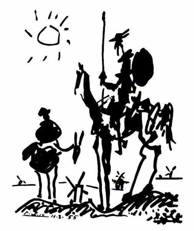 Don Quixote is listed (or ranked) 2 on the list Famous Cubism Artwork