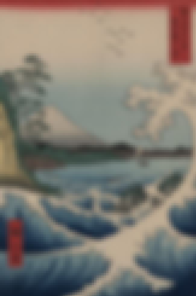 36 Views of Mount Fuji is listed (or ranked) 1 on the list List of Famous Utagawa Hiroshige Artwork