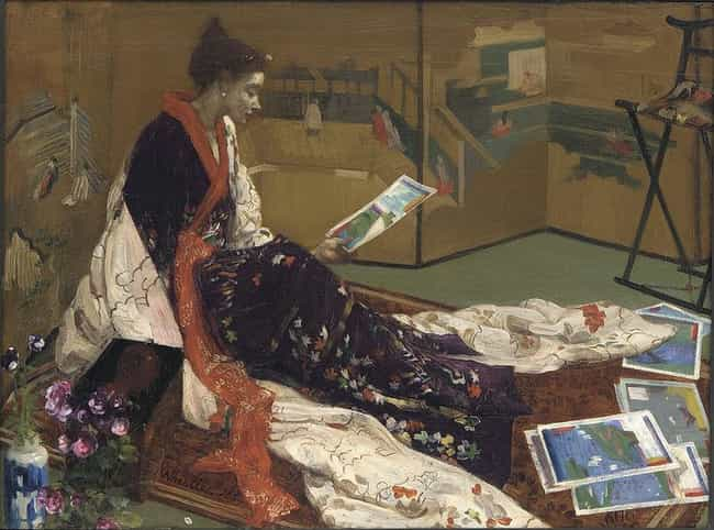 Caprice in Purple and Go... is listed (or ranked) 4 on the list Famous James McNeill Whistler Paintings