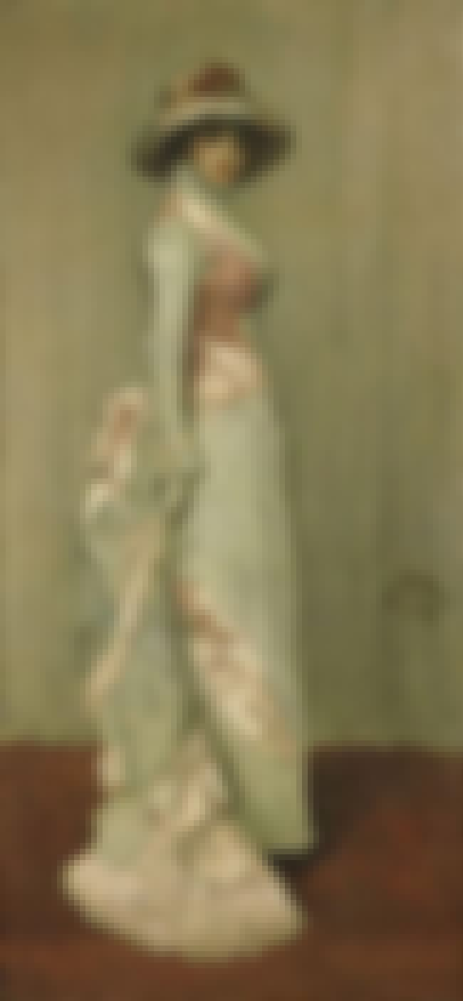 Harmony in Pink and Grey (Port... is listed (or ranked) 7 on the list Famous James McNeill Whistler Paintings