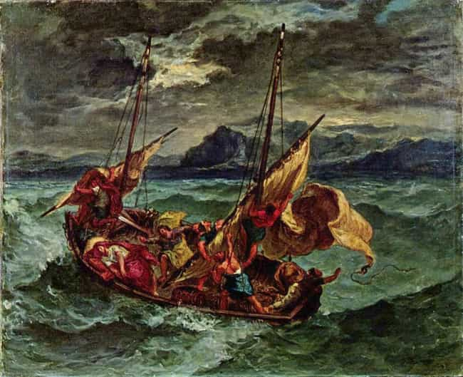 Christ on the Sea of Galilee is listed (or ranked) 2 on the list Famous History Paintings from the Romanticism Movement