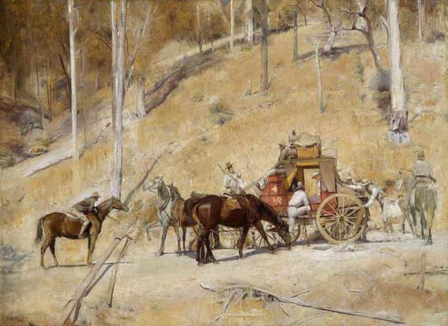 Bailed Up is listed (or ranked) 2 on the list List of Famous Tom Roberts Artwork