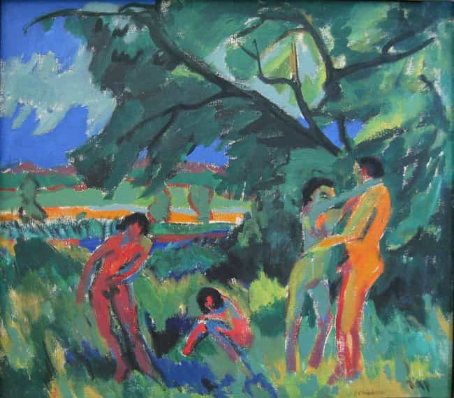 Naked Playing People is listed (or ranked) 4 on the list Famous Ernst Ludwig Kirchner Paintings