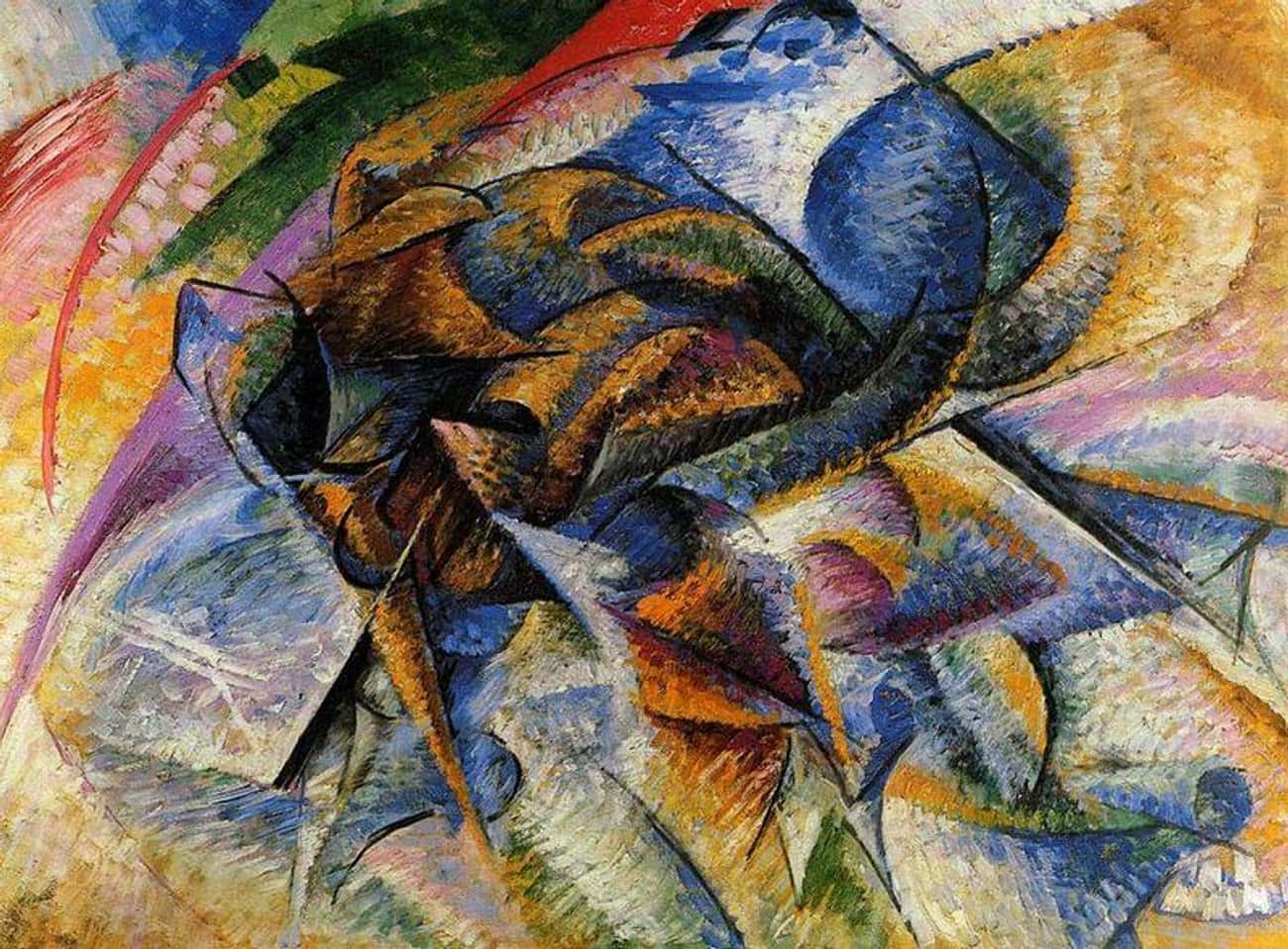 Dynamism of a Biker is listed (or ranked) 3 on the list Famous Futurism Artwork