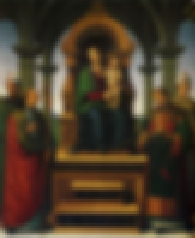 Decemviri Altarpiece is listed (or ranked) 6 on the list List of Famous Pietro Perugino Artwork