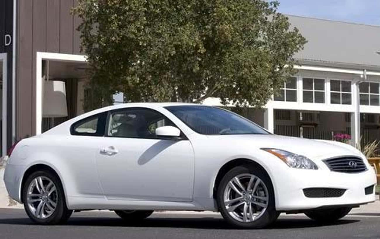 2010 Infiniti G37 Coupe is listed (or ranked) 3 on the list The Best Infiniti G37s of All Time