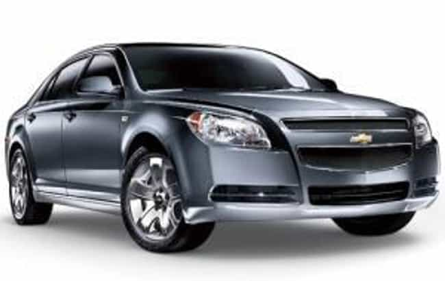 2010 Chevrolet Malibu is listed (or ranked) 4 on the list The Best Chevrolet Malibus of All Time