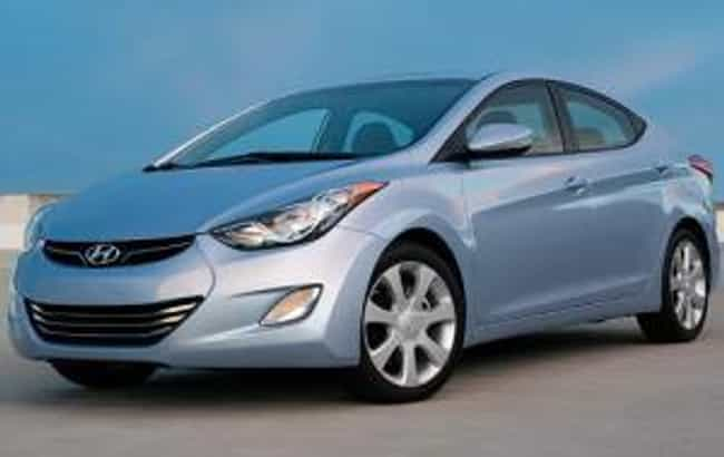 2012 Hyundai Elantra Sedan is listed (or ranked) 4 on the list The Best Hyundai Elantras of All Time