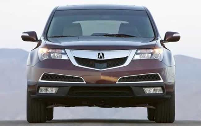 2010 Acura MDX is listed (or ranked) 2 on the list List of All Cars Made in 2010