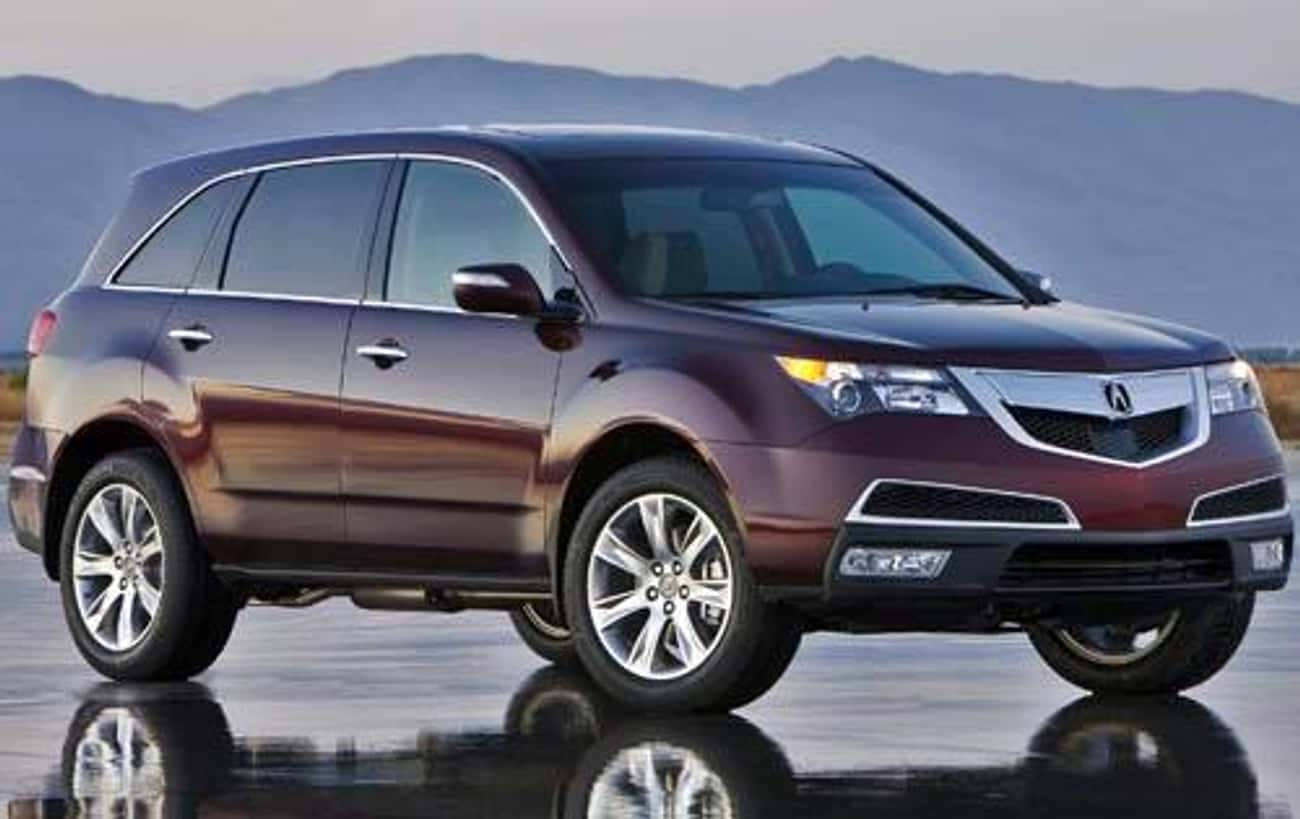 2011 Acura MDX is listed (or ranked) 1 on the list List of All Cars Made in 2011