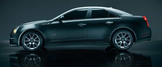 2012 Cadillac CTS-V Sedan is listed (or ranked) 3 on the list The Best Cadillac CTS-Vs of All Time