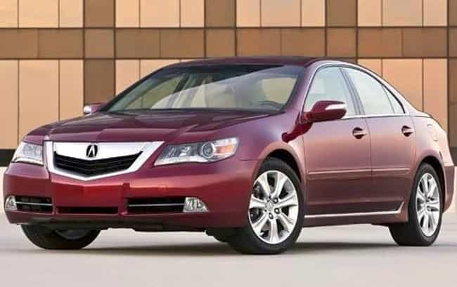 2010 Acura RL is listed (or ranked) 4 on the list List of All Cars Made in 2010