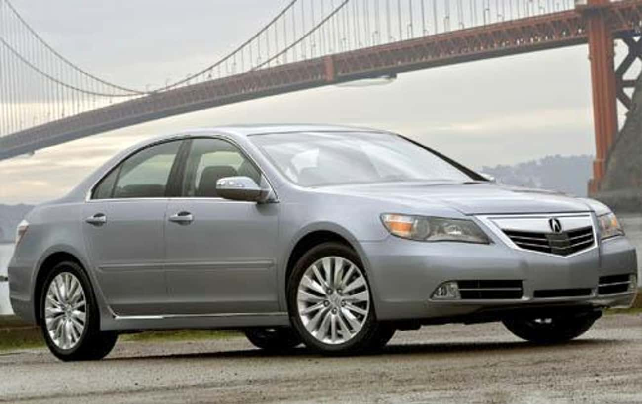 2011 Acura RL is listed (or ranked) 4 on the list List of All Cars Made in 2011