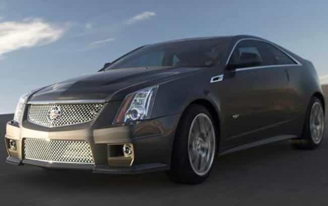 2011 Cadillac CTS-V Coupe is listed (or ranked) 4 on the list The Best Cadillac CTS-Vs of All Time