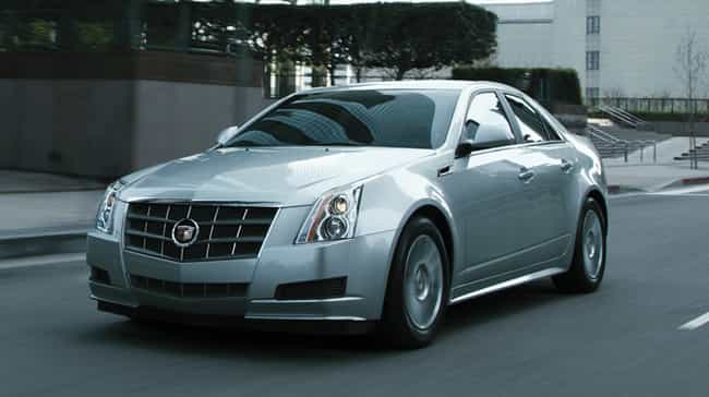 2011 Cadillac CTS Sport Sedan is listed (or ranked) 4 on the list The Best Cadillac CTSs of All Time