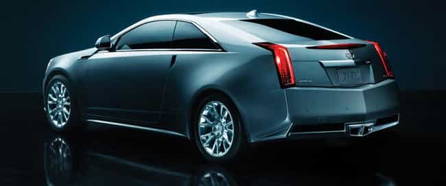 2012 Cadillac CTS Coupe ... is listed (or ranked) 2 on the list The Best Cadillac CTSs of All Time