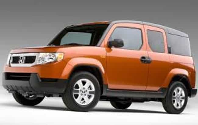 2011 Honda Element is listed (or ranked) 7 on the list The Best Honda Elements of All Time