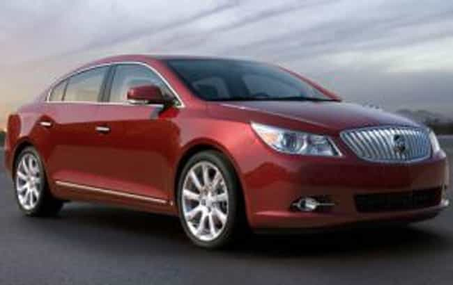 2010 Buick Lacrosse Is Listed Or Ranked 1 On The List Best