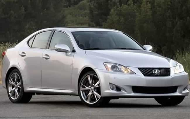 2010 Lexus IS is listed (or ranked) 2 on the list The Best Lexus ISs of All Time
