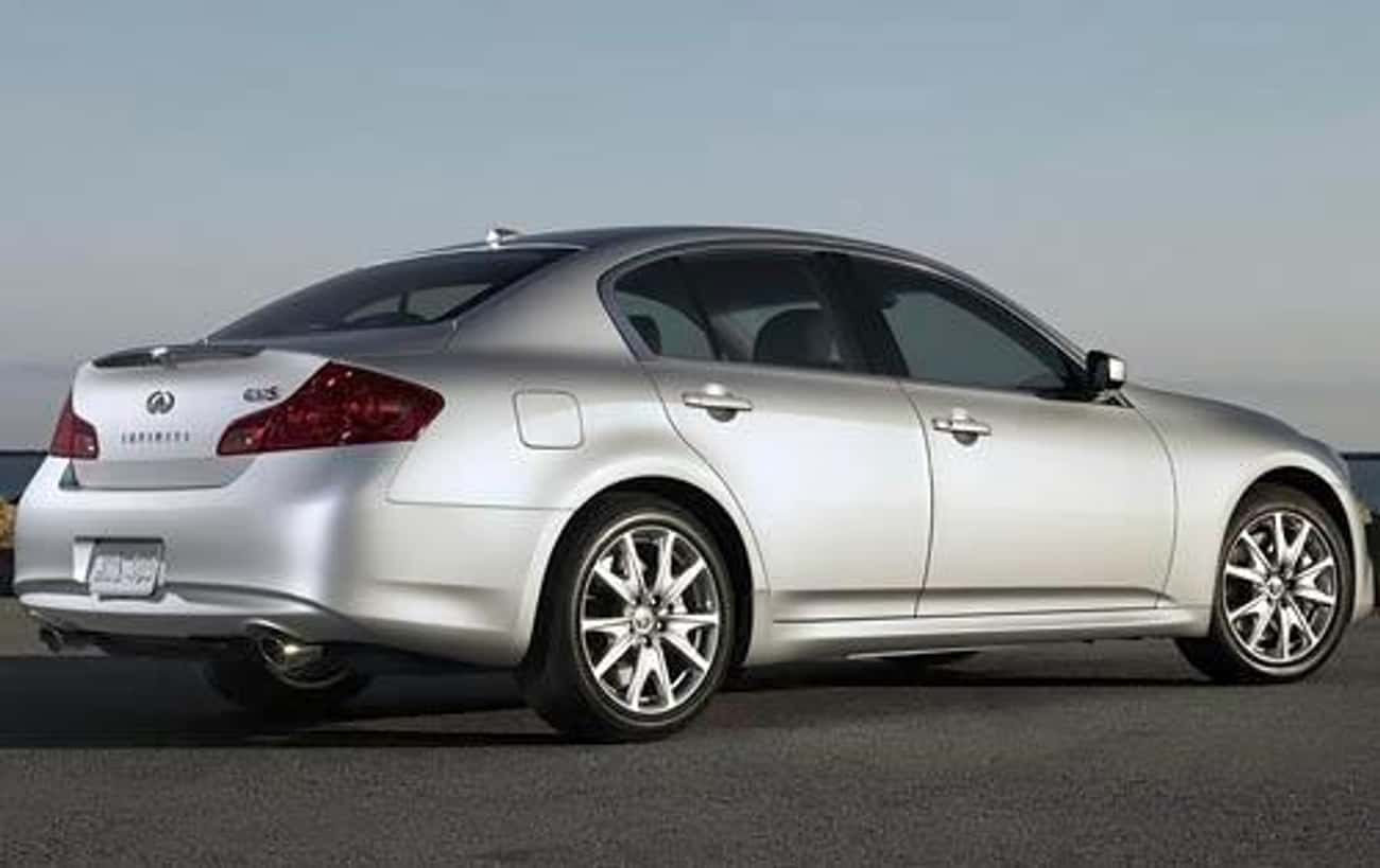 2010 Infiniti G37 Sedan is listed (or ranked) 4 on the list The Best Infiniti G37s of All Time