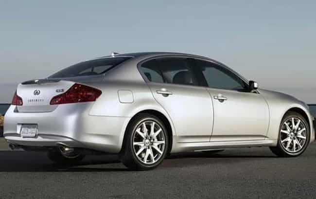 2010 Infiniti G37 Sedan ... is listed (or ranked) 5 on the list The Best Infiniti G37s of All Time
