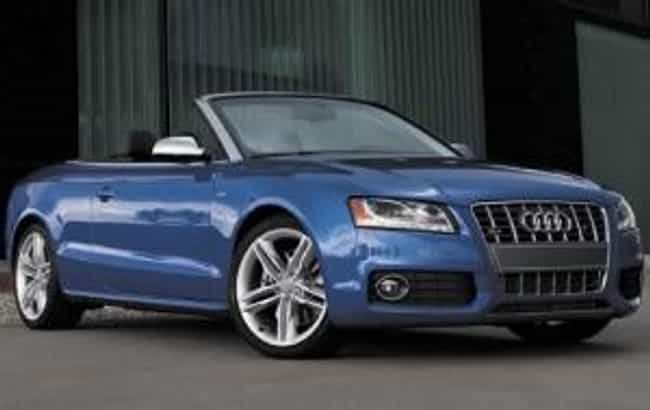 2010 Audi S5 Cabriolet is listed (or ranked) 4 on the list The Best Audi S5s of All Time
