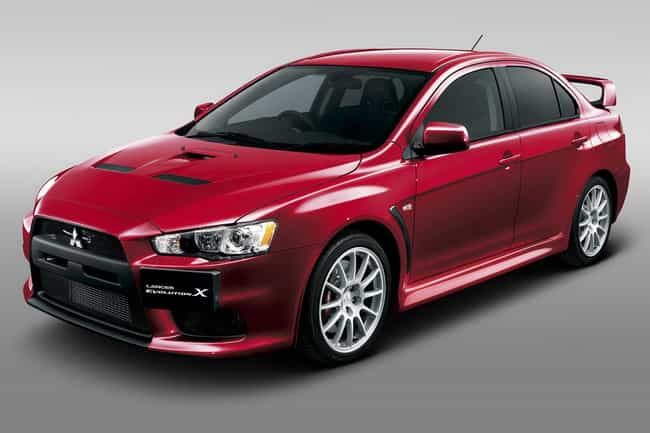 2011 Mitsubishi Lancer Evoluti... is listed (or ranked) 3 on the list The Best Mitsubishi Lancer Evolutions of All Time