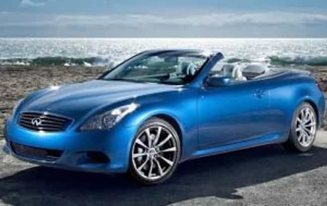 2009 Infiniti G37 Conver... is listed (or ranked) 8 on the list The Best Infiniti G37s of All Time