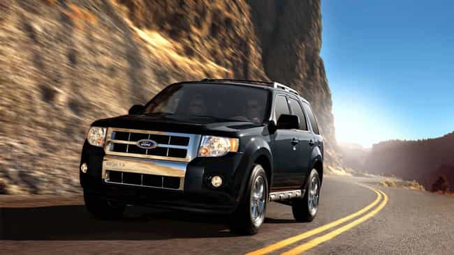 2012 Ford Escape is listed (or ranked) 1 on the list The Best Ford Escapes of All Time