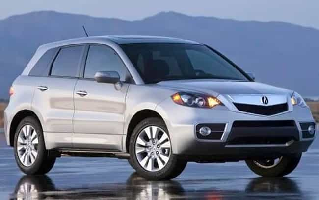 2010 Acura RDX is listed (or ranked) 3 on the list List of All Cars Made in 2010