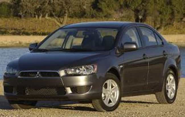 2011 Mitsubishi Lancer ... is listed (or ranked) 3 on the list The Best Mitsubishi Lancers of All Time