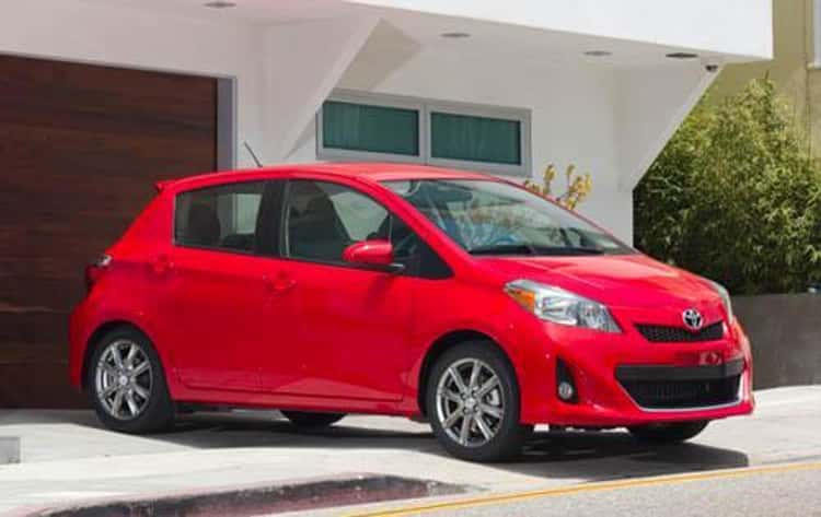 2012 Toyota Yaris 5-Door Liftback