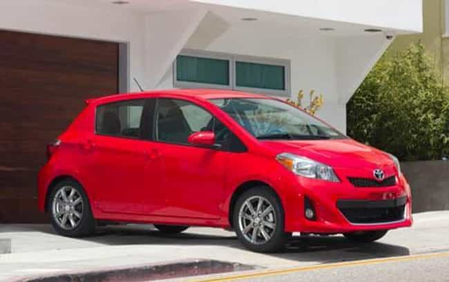 2012 Toyota Yaris 5-Door... is listed (or ranked) 2 on the list The Best Toyota Yariss of All Time