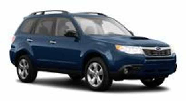 2010 Subaru Forester is listed (or ranked) 8 on the list The Best Subaru Foresters of All Time