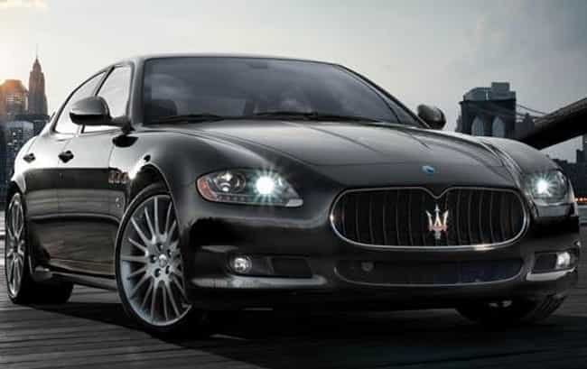 2010 Maserati Quattropor... is listed (or ranked) 2 on the list The Best Maserati Quattroportes of All Time