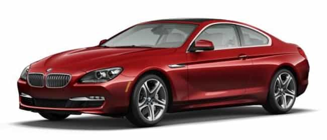 2010 BMW 6 Series Coupé is listed (or ranked) 4 on the list The Best BMW 6 Series of All Time