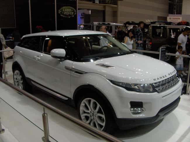 Range Rover Evoque Is Listed Or Ranked 1 On The List Full Of
