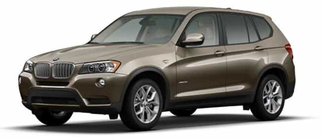 2011 BMW X3 is listed (or ranked) 1 on the list The Best BMW X3s of All Time