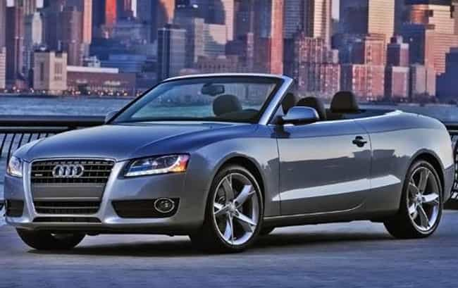 2010 Audi A5 Cabriolet ... is listed (or ranked) 4 on the list The Best Audi A5s of All Time