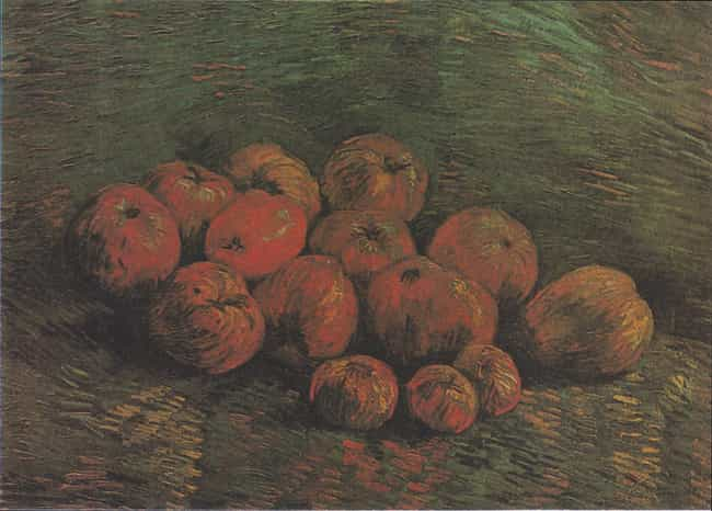 Still Life with Apples is listed (or ranked) 4 on the list Famous Apple Art