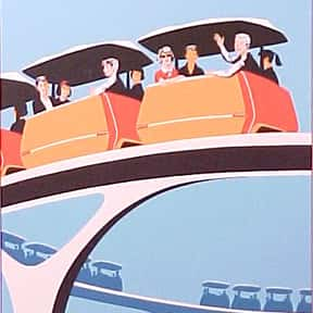 PeopleMover is listed (or ranked) 23 on the list The Best Rides at Disneyland