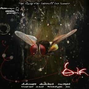 Eega is listed (or ranked) 20 on the list Famous Movies Filmed in India