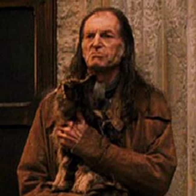 Argus Filch is listed (or ranked) 3 on the list The Best Fictional Janitors
