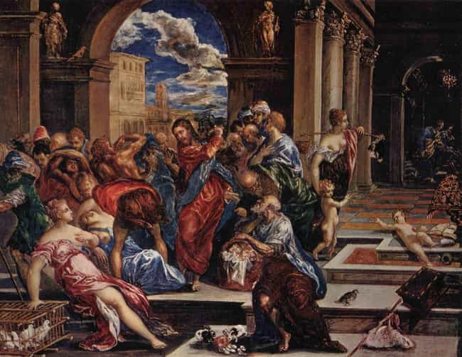 Famous History Paintings by El Greco