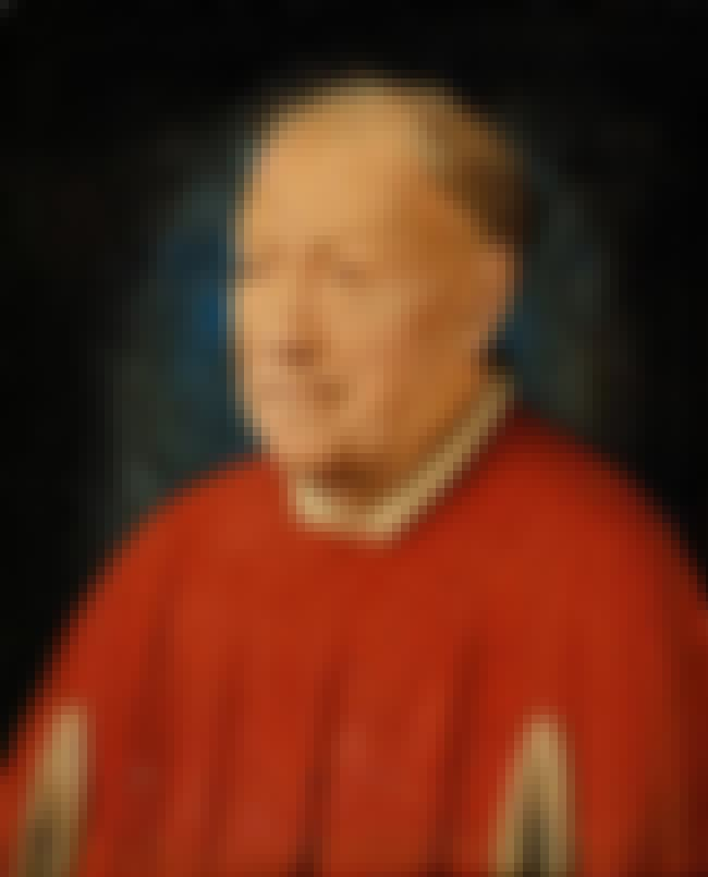 Portrait of Cardinal Niccolò A... is listed (or ranked) 8 on the list List of Famous Jan Van Eyck Artwork