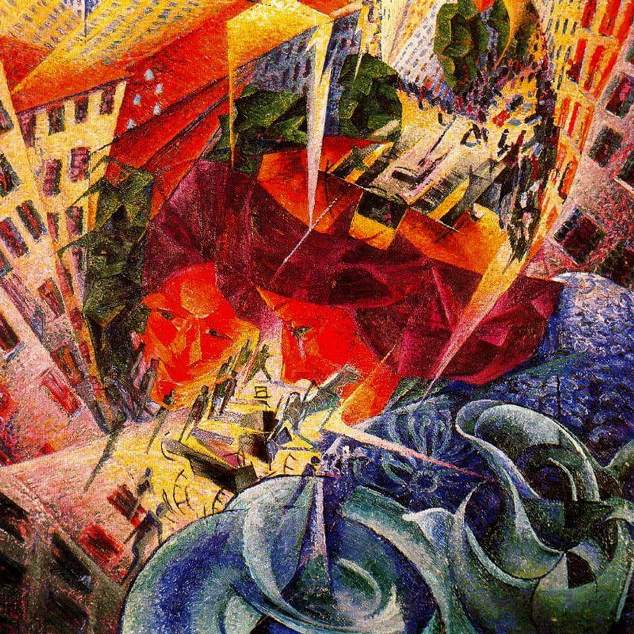 Simultaneous Visions is listed (or ranked) 4 on the list Famous Futurism Paintings