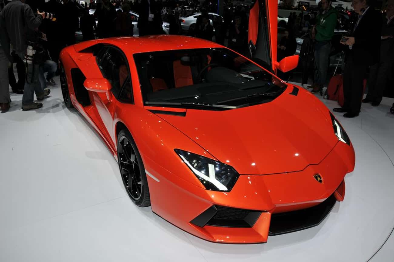 Lamborghini Aventador is listed (or ranked) 2 on the list Dream Cars You Wish You Could Afford Today
