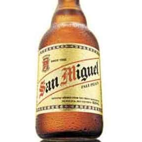 San Miguel is listed (or ranked) 17 on the list The Best Beer Brands