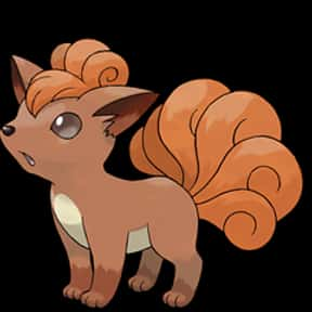 Vulpix is listed (or ranked) 18 on the list The Best Dog Pokemon